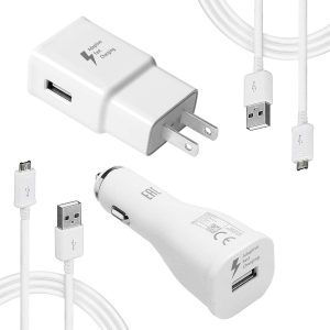 Samsung Adaptive Fast Charger Kit-LaoFas Fast Charging Adapter Travel Charger Compatible with Samsung Galaxy S7 Edge…