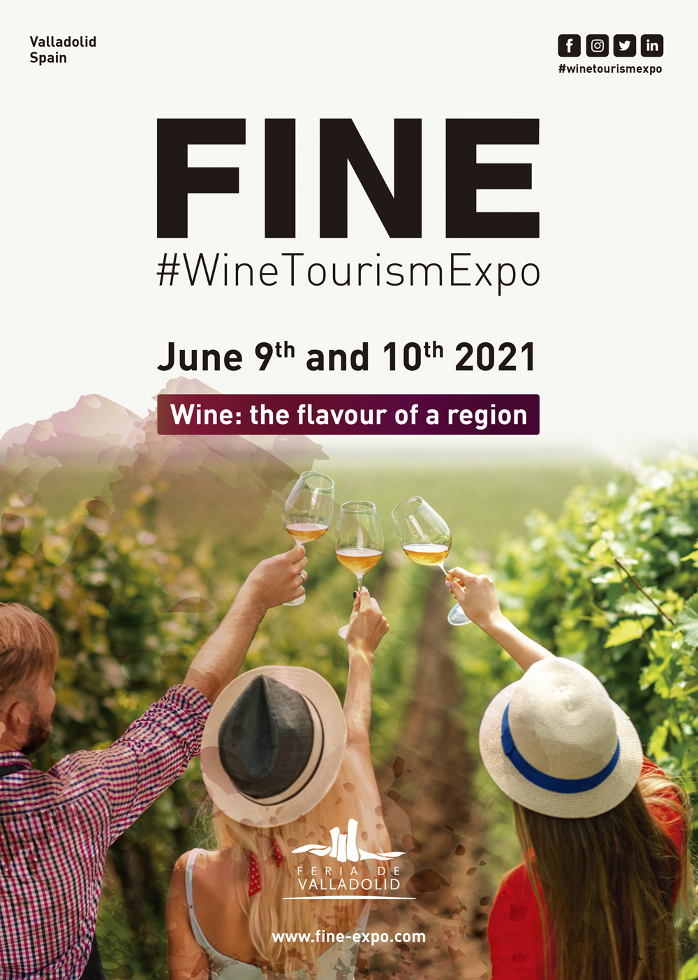 Valladolid to host second edition of FINE, the International Wine Tourism Fair next JuneTravel And Tour World